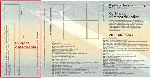 carte grise vente véhicule Assurance temporaire et carte grise / vente de véhicule